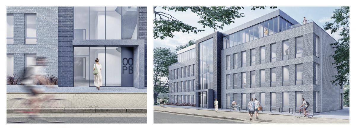 März 2021 - Am Pariser Bogen entsteht neue Bürofläche
