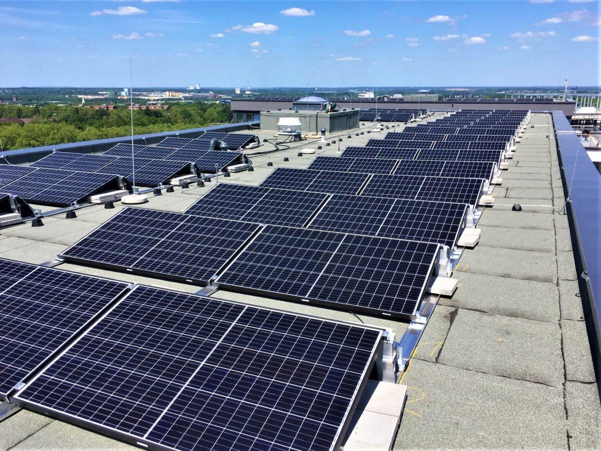 Juni 2020 - Photovoltaikanlagen wurden installiert