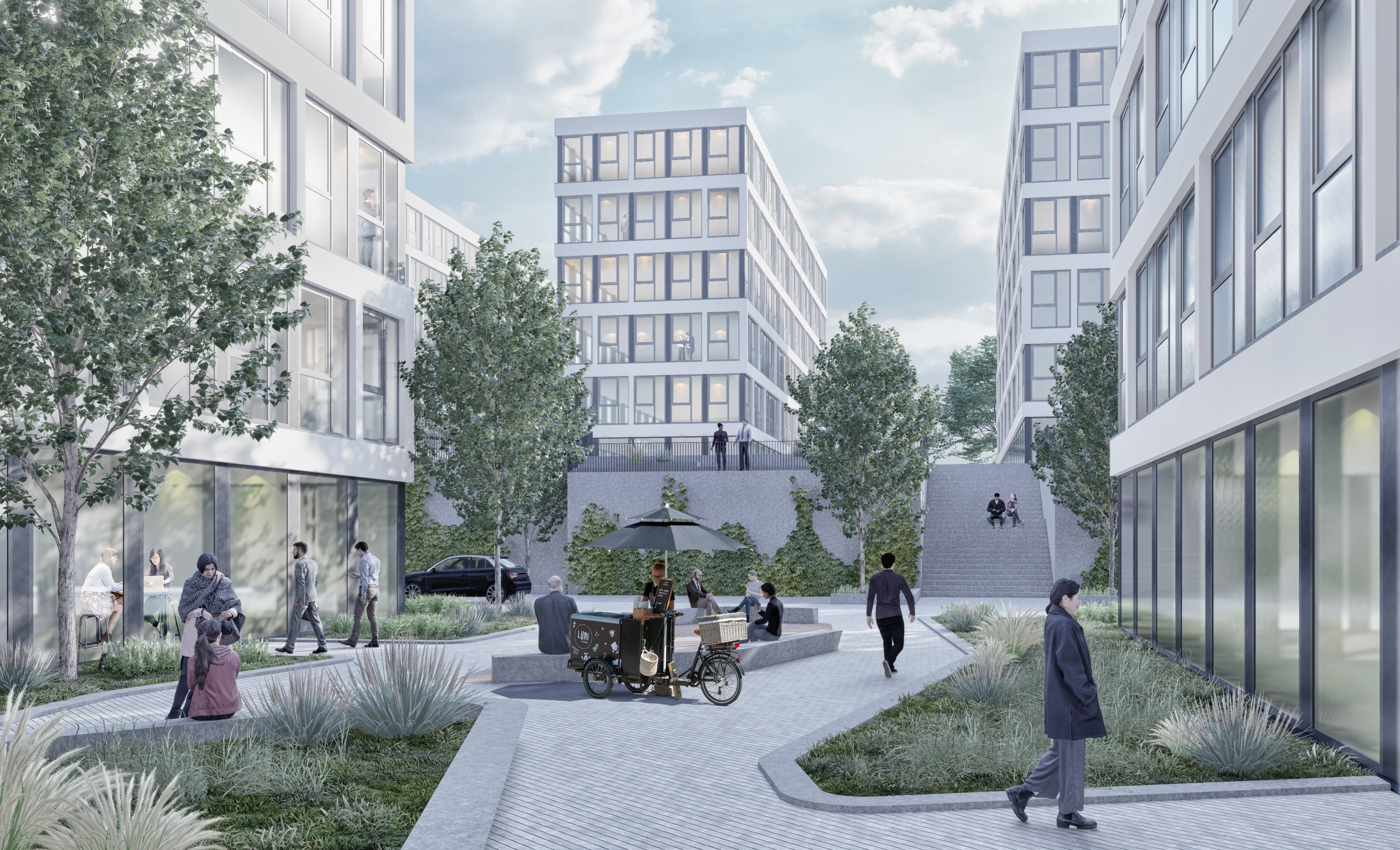 Juli 2021 - Neubau in Bochum bietet 17.000 m² Mietfläche