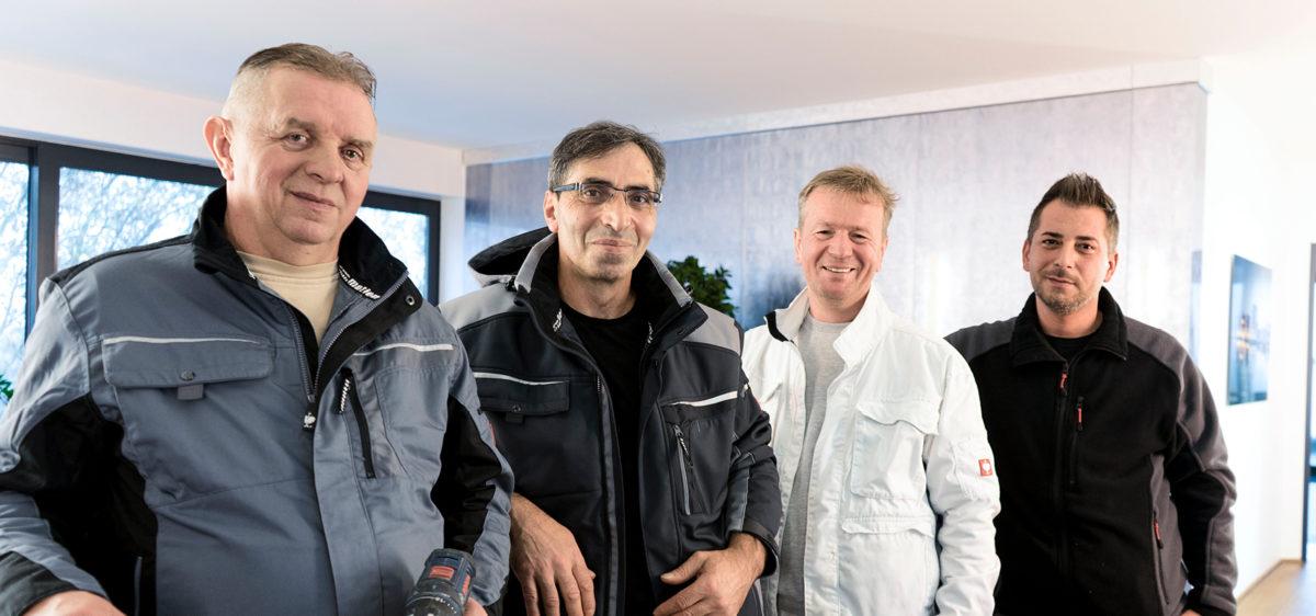 Facility-Team der SIG GmbH & Co.KG